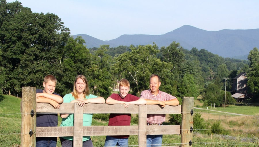 Campbell Family Clean Water Farm Award winners