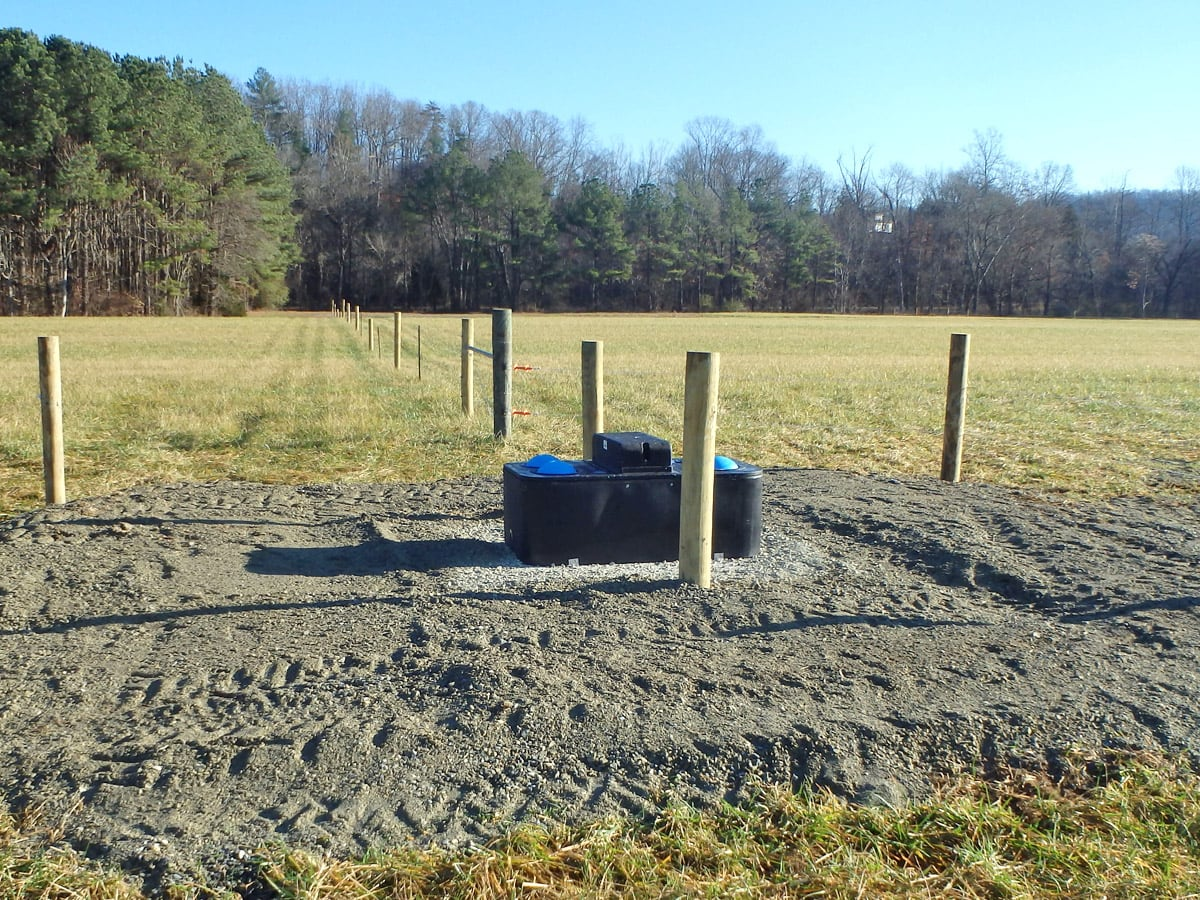 Livestock Water System enables livestock to stay out of streams