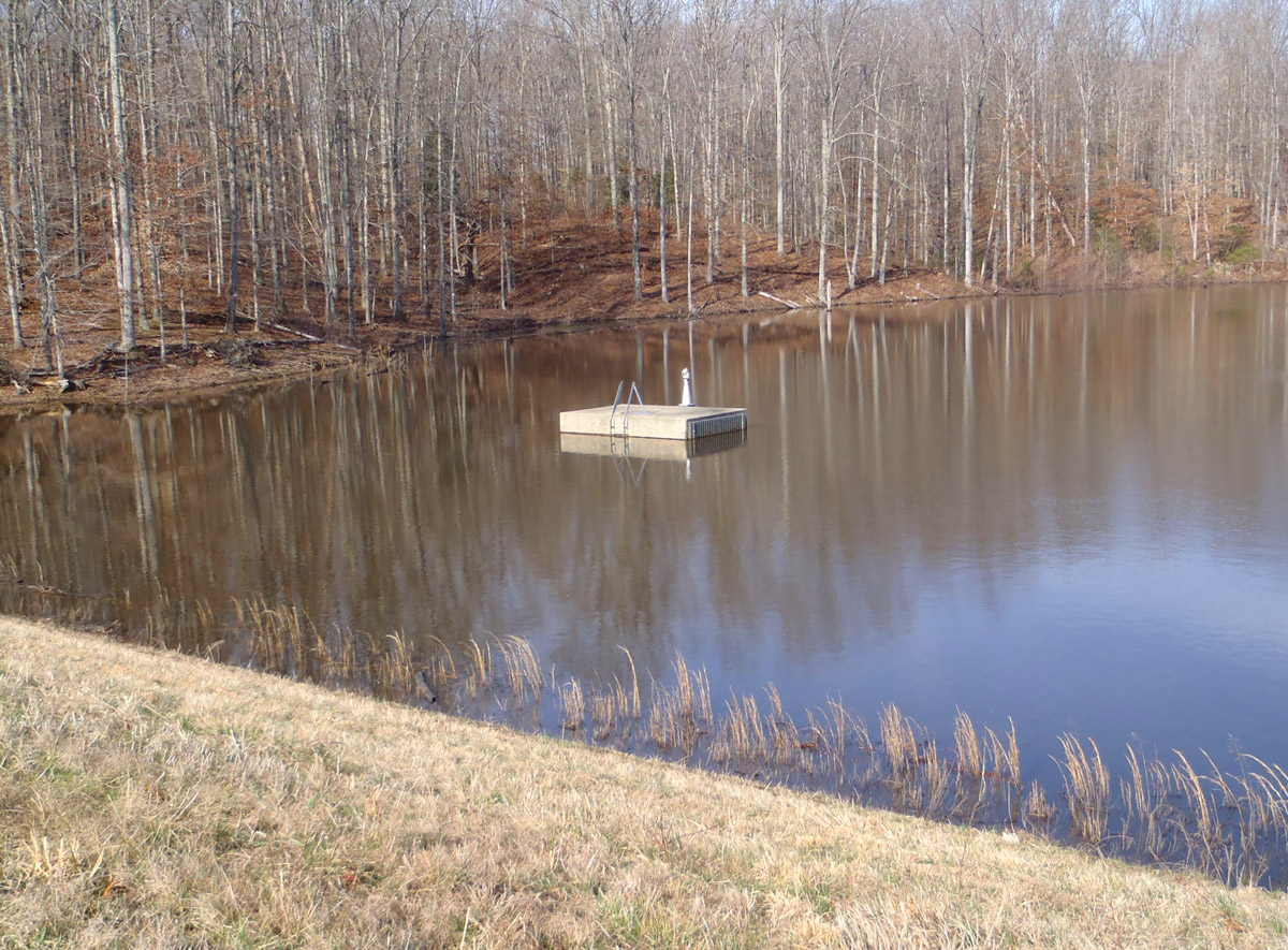 Louisa County Flood Control Structure