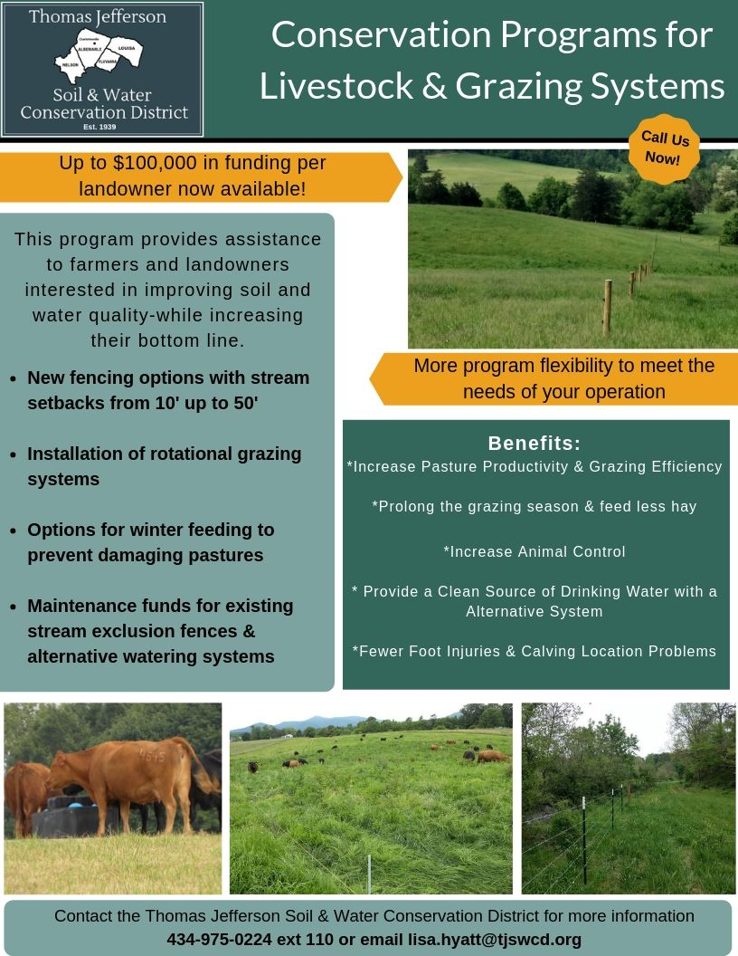 Livestock Program Flyer