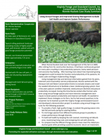 Using Annual Forages and Improved Grazing Management to Build Soil Health and Improve System Performance
