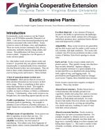 Exotic Invasive Plants