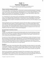 Agronomy Handbook - Nutrient Management