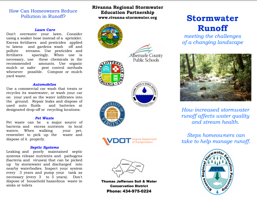 Stormwater Runoff -  meeting the challenges of a changing landscape