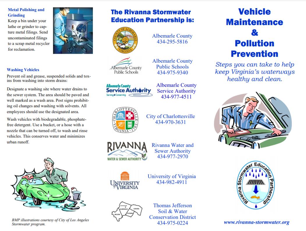 Vehicle Maintenance & Pollution Prevention